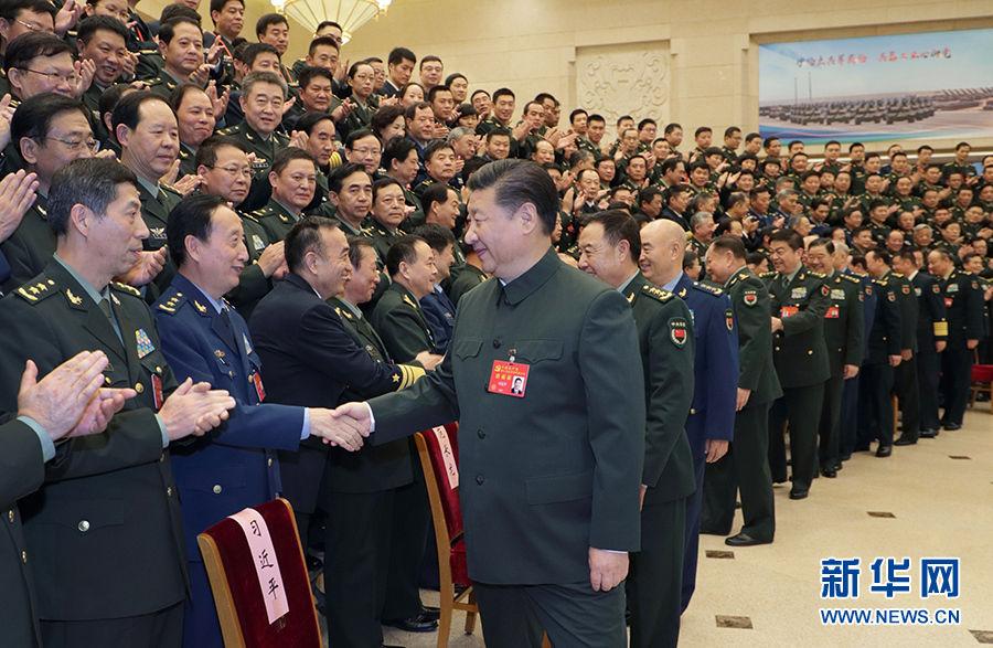 习近平:为实现党在新时代的强军目标 把人民军队全面建成世界一流军队而奋斗