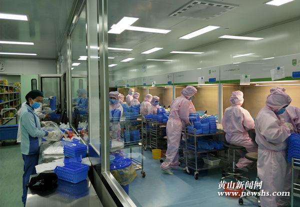 综合病房大楼启用 黄山市人民医院完成药剂科搬迁