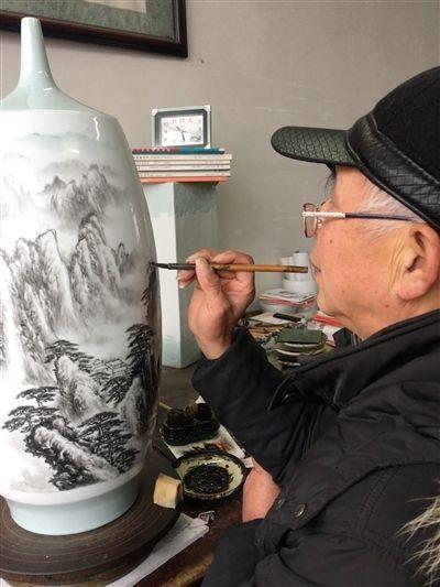 胡翠松:画笔是比筷子重要的存在!