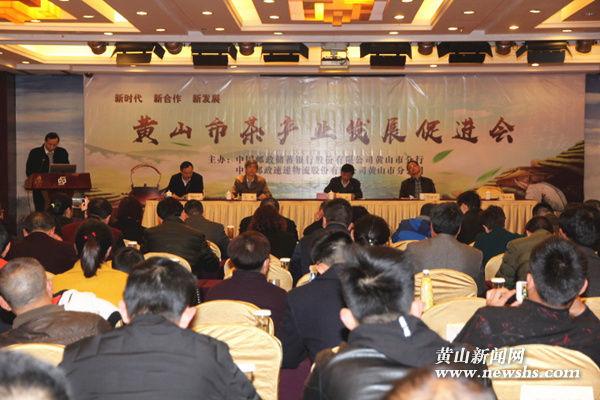 黄山:邮银联手 助力茶产业发展
