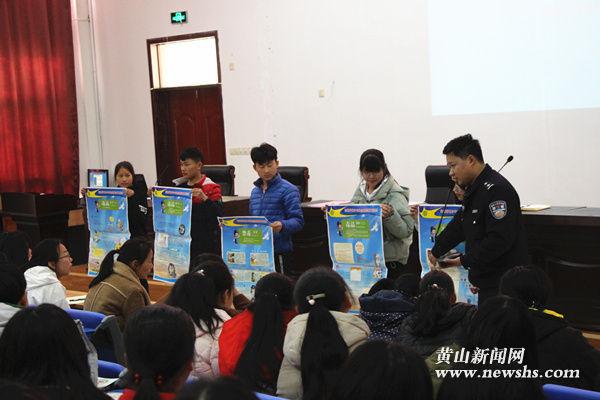 甘棠派出所:禁毒宣传进旅校  警校共建防火墙