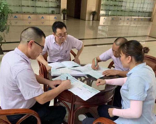 邮储银行休宁县支行上门服务工会会员卡用户