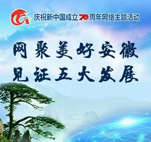 专题 | 网聚美好*上葡京娱乐|安徽 见证五大发展