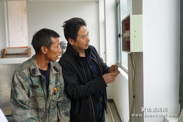 黄山区龙门乡开展茶季安全生产大检查